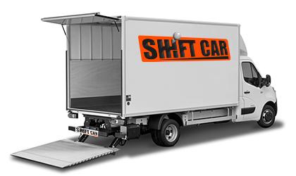 location utilitaire / camion avec hayon 20m³